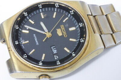 $ CDN42.50 • Buy Seiko 7009-3160 Automatic Watch Running, For Repairs Or For Parts/restore -12068