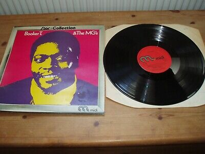 Booker T & The Mgs  -  Star Collection Lp   Inc Green Onions • 4.95£