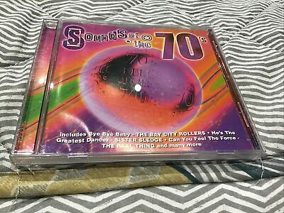 Sounds Of The 70's, CD Album • 2£