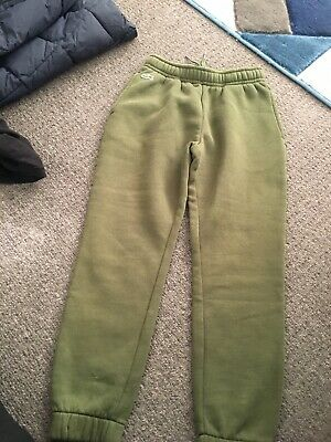Lacoste Green Tracksuit Bottoms Age 8 • 7£