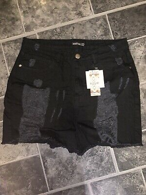 Ladies Shorts Uk Size 16 🖤 Boohoo 🖤 Brand New With Tags 🖤 • 2£