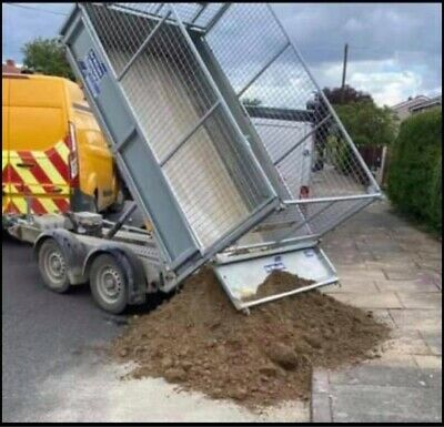Ifor Williams Trailer 8 Ft Electric Tipper With Mesh Sides • 3,900£
