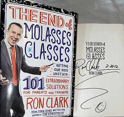AU39.13 • Buy SIGNED Ron Clark Book The End Of Molasses Classes First 1st ED. Hardcover HC DJ