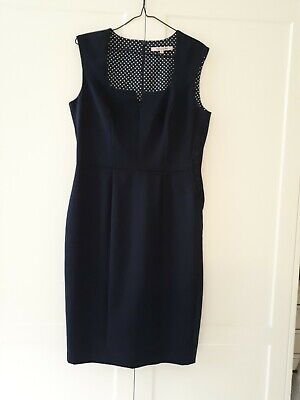AU30 • Buy REVIEW Corporate/special Occasion, Navy Dress, SIZE 12