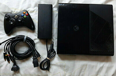 AU100 • Buy Microsoft XBOX 360 E Console 250GB + Power Supply + Cables + Controller - Works