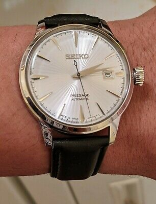 $ CDN440 • Buy Seiko Presage Silver Men's Watch - SRPB43