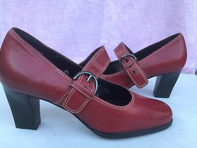 ROCKPORT NEW Women Shoes US6.5M UK 5.5 Red&black All Weather Non Slippery Soles • 9£