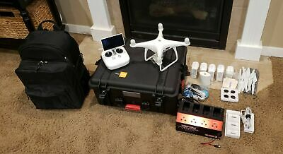 AU645.83 • Buy DJI Phantom 4 Pro+ With Hard Case, 5 Batteries And Tons Of Extras
