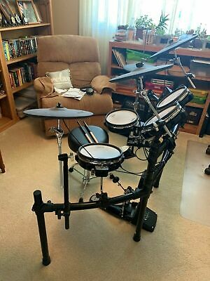AU645.83 • Buy Roland Td 25 KV Electronic V Drum Kit; Amp, Chair And Sticks
