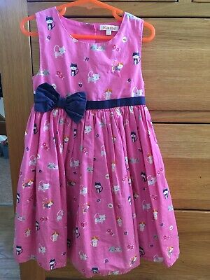 Aged 3-4 Blue Zoo Girls Pink Party Dress • 1£
