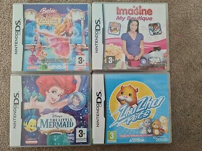Nintendo DS Game Bundle (Buy 3 Get 1 Free!) (Cute DS Games For Young Girls) • 2.50£