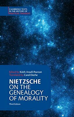 Nietzsche: On The Genealogy Of Morality And Other Writings (C New Paperback Book • 22.10£