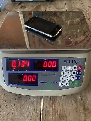 Mettler Toledo Scales Balance For Shop / Commercial / Lab Super Accurate A1! • 25£