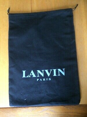Lanvin Drawstring Dust Bag • 7.50£