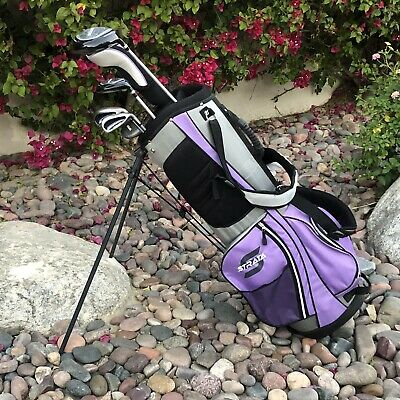 AU193.75 • Buy Womens Complete Golf Set Clubs Bag Strata Golf