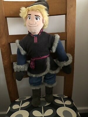 Disney Store Frozen Kristoff Plush Soft Doll • 10£