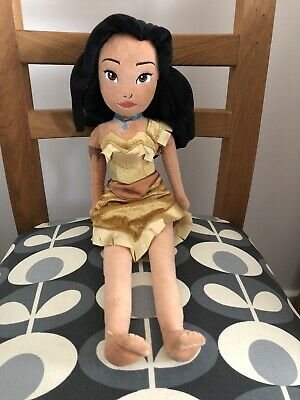 Disney Store Princess Pocahontas Plush Soft Doll. • 10£