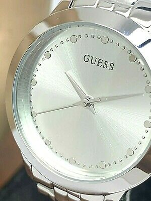 $ CDN37.67 • Buy Guess Women's Watch U0989L1 Chelsea Silver Dial Quartz Stainless Steel 30mm