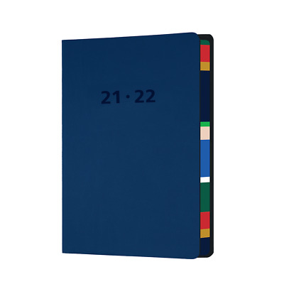 AU25.99 • Buy 2021-2022 Financial Year Diary Collins Edge Mira A5 Week To View Navy EDMR153M-5