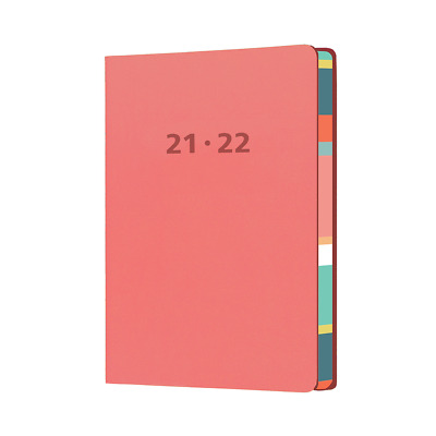 AU25.99 • Buy 2021-2022 Financial Year Diary Collins Edge Mira A5 Week To View Pink EDMR153M-5