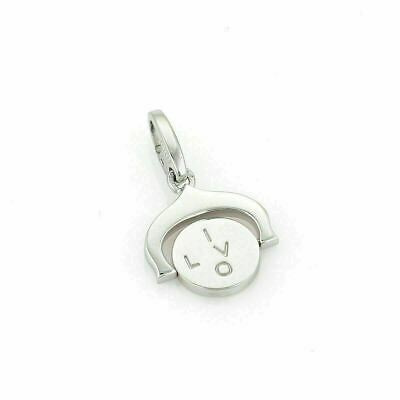 Cartier I Love You Spinner 18k White Gold Charm W/Cert. • 884.52£