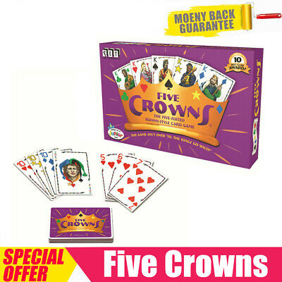 AU17.25 • Buy  Five Crowns Card Game 5 Suites Classic Original Family Party Rummy Style Play
