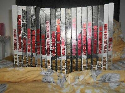 20 Volumes Of Time Life Books The 2nd World War • 45£