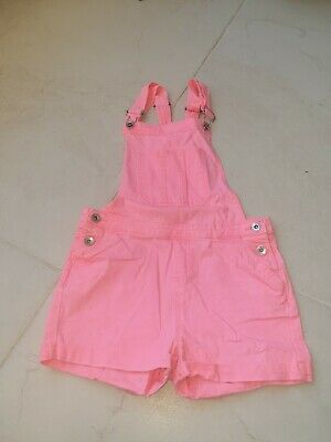 Denim And Co Short Dungarees Age 12-13 • 3£