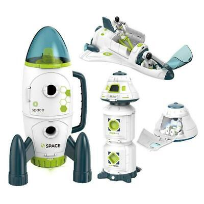 Space Model Toy Space Return Capsule Shuttle Space Rocket-HOT Station F7Z6 • 34.63£