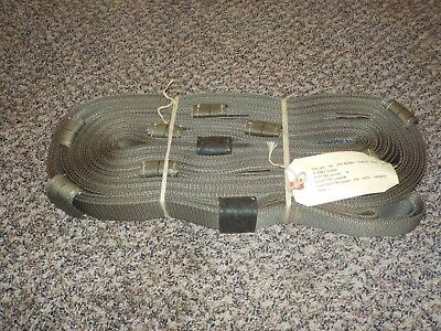 $35.93 • Buy NOS Brand New 20 FOOT MILITARY TOW STRAP MULTI LOOP  44500 LBS PULL