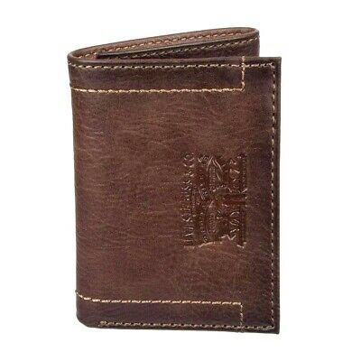 $24.95 • Buy Levi's Men's RFID-Blocking Leather Trifold Wallet Brown