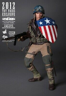 $ CDN569.73 • Buy 2012 Hot Toys Marvel Captain America Rescue 1/6 Th Scale Figure Mms180 Sideshow