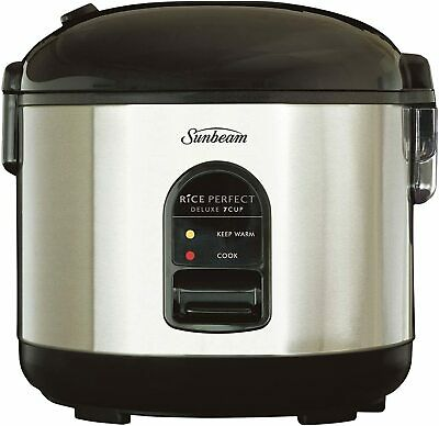 AU80 • Buy Sunbeam Rice Perfect Deluxe 7   Rice Cooker & Steamer   Non-Stick Rice Maker   M