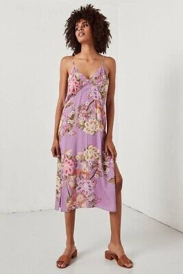 AU75 • Buy SPELL AND THE GYPSY Blue Skies Slip Dress Lilac Size L