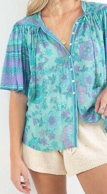 AU112.50 • Buy Spell & The Gypsy Buttercup Blouse Size XXL