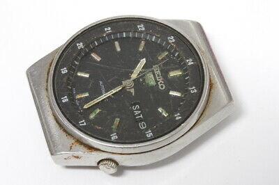 $ CDN50.65 • Buy Seiko 6309-7200 Automatic Watch Runs/stops, For Repairs Or Parts/restore  -12096