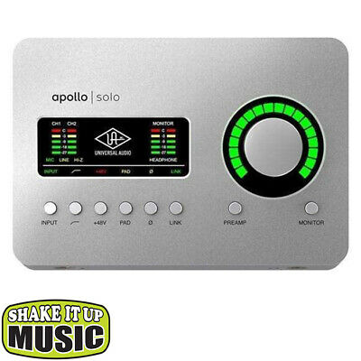 AU899 • Buy Universal Audio Apollo Solo USB Audio Interface