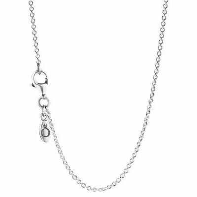 NEW AUTHENTIC PANDORA Pearl Silver Chain Necklace Of Length 45cm 590412-45  • 18.49£