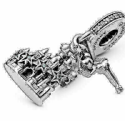 £15.75 • Buy NEW Pandora DISNEY Parks Tinker Bell & Castle Of Magical Dreams Charm 798856C01