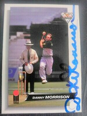 AU5 • Buy 1993 Futera Cricket Cards - Card No. 23 Signed By Danny Morrison