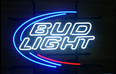 $ CDN162.88 • Buy Bud Light Budweiser REAL NEON SIGN BEER BAR LIGHT [ Best Designed ]
