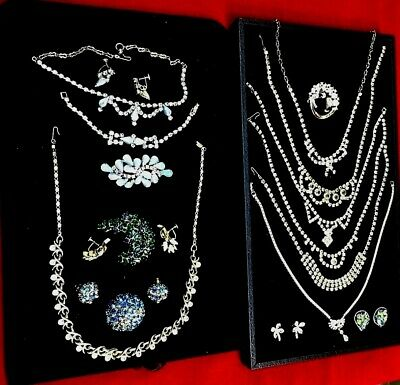 $ CDN37.86 • Buy High Quality Vintage Jewelry Lot Otis Signed Sterling Necklace Austria Trifari