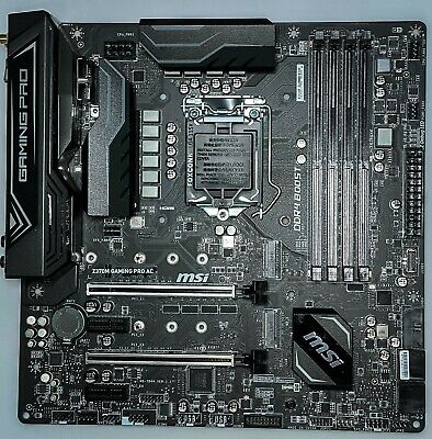 AU30.66 • Buy MSI Z370M Gaming PRO AC Micro-ATX Motherboard Supports 8th And 9th Gen Intel