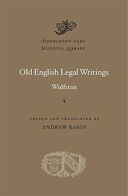 Old English Legal Writings: 66 (Dumbarton Oaks Medieval Library) By Wulfstan, • 29.49£