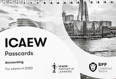 ICAEW Accounting: Passcards By BPP Learning Media Book The Cheap Fast Free Post • 11.99£
