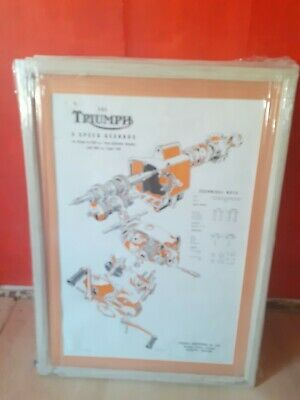 Triumph Motorcycle Line Drawings  • 85£