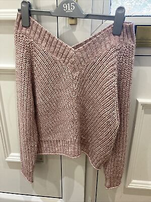 New Look Off The Shoulder Jumper Age 10-11 Years • 8£