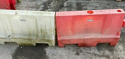 £150 • Buy 1 Metre Road Barrier - Red And White - Used - Sand/water Filled