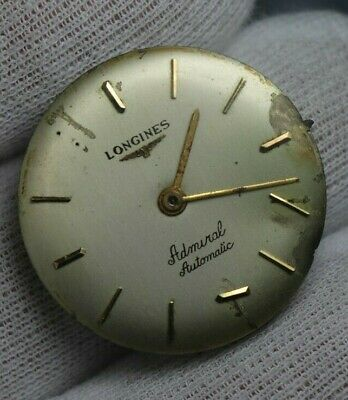 $ CDN12.61 • Buy Vintage Longines Admiral Automatic Cal 340 Watch Movement  & Dial