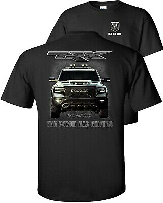 $16.75 • Buy Dodge Ram TRX The Power Has Shifted Pickup T-Shirt Adult Youth Unisex